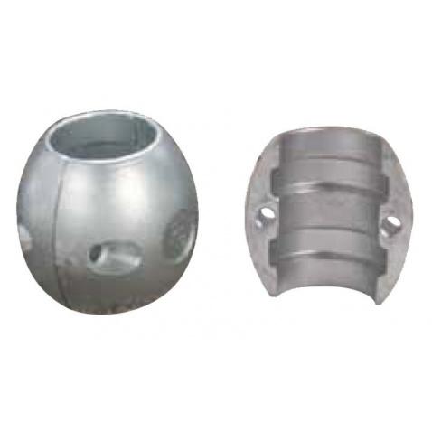 Anoda zinková pro hřídel pr. 25,4 mm