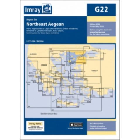 Mapa G22 Northeast Aegean Sea