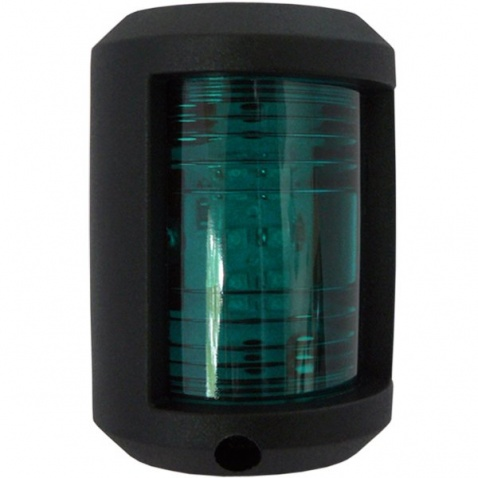 Světlo poziční, zelené, LED 112,5°