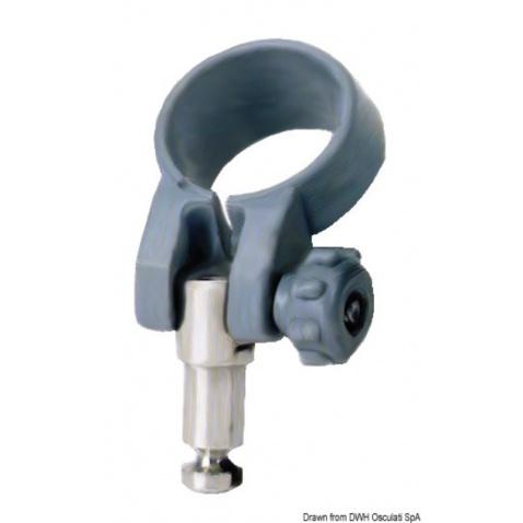 Objímka (havlinka) na veslo prům. 26,5mm s aretací, prům. 12,5mm, délka 26,5mm