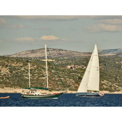 Praxe na moři - Bretaň