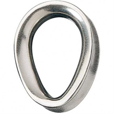 Srdíčko (očnice) pro lano 6mm uzavřené - RF2183