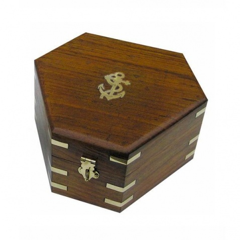 Krabice na sextant - 17,5x15,5x8,5 cm