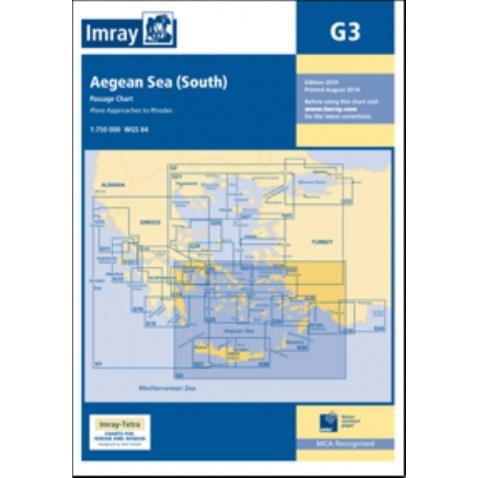 Mapa G3 Southern Aegean