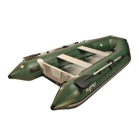Nafukovací člun Rapid HD 330alu - green