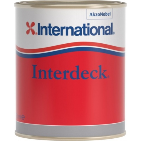 Barva vrchní  INTERDECK - krémová 027, 0,750l