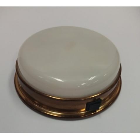 Světlo kajutové aquasignal - stropní zlaté 16,5cm