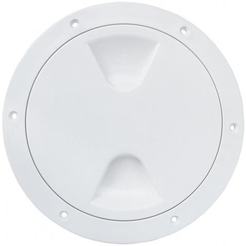 Inspekční víko,  163/205 mm bílé