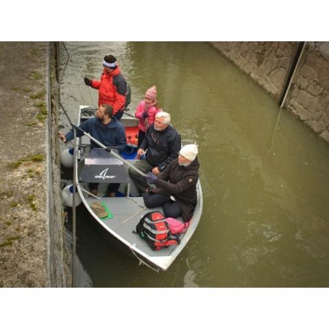 Ověření praktických dovedností - motorová loď