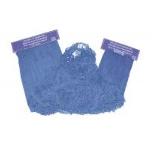 Síť dekorativní modrá 200x400