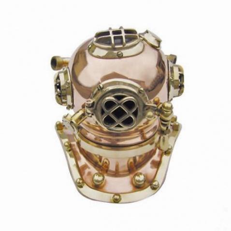Potápěčská helma, v. 23cm