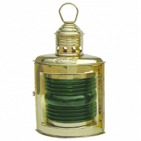 Lampa petrolejová, pravobok (zel.)