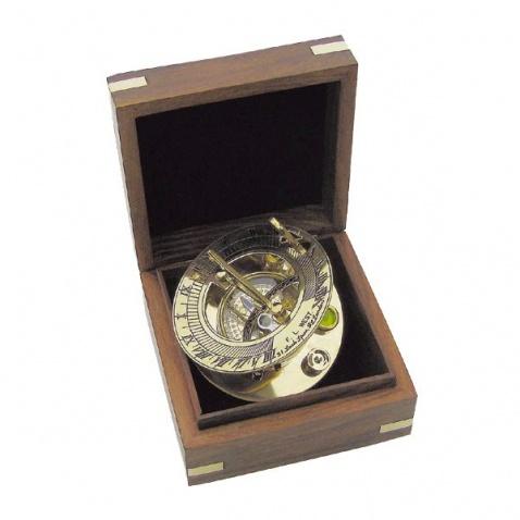 Sluneční hodiny, kompas