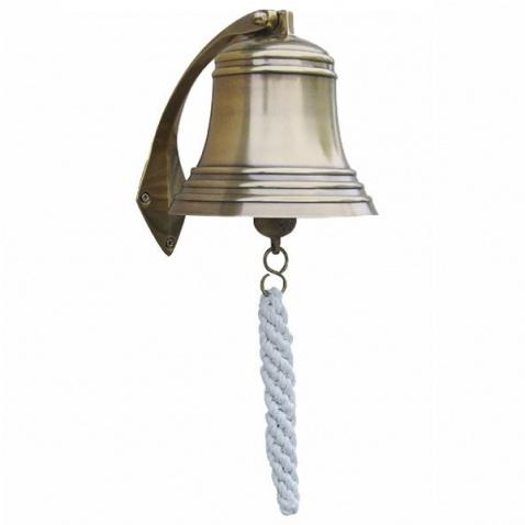 Zvon antická mosaz, prům.15cm