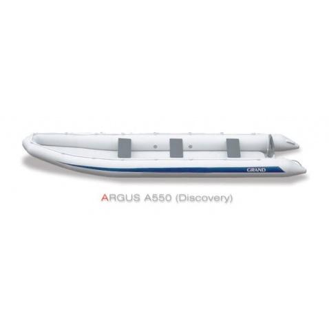 Nafukovací kanoe Grand A550 Discovery - šedá