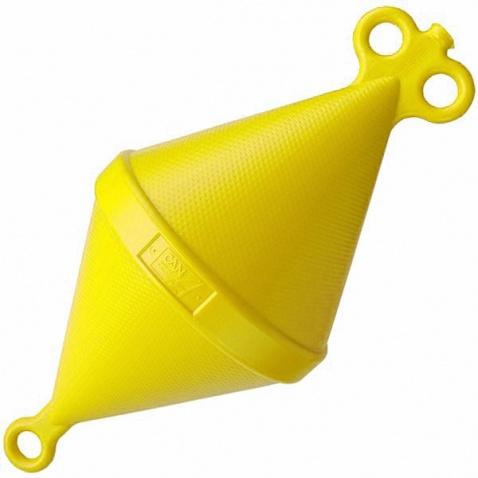 Bóje kotevní,d.103cm,výtlak 30 kg yellow
