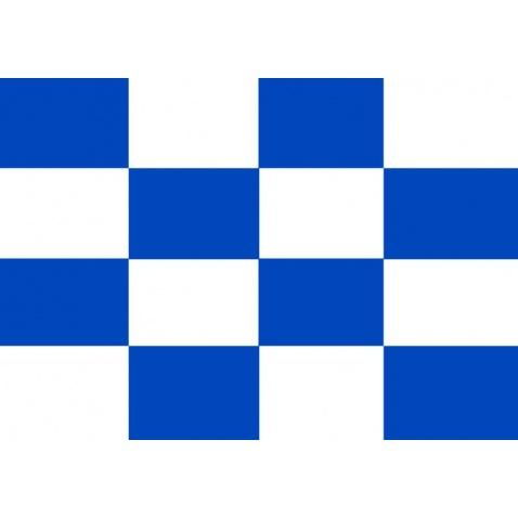 """Vlajka """"N"""" 45x60cm (C+N volání o pomoc)"""