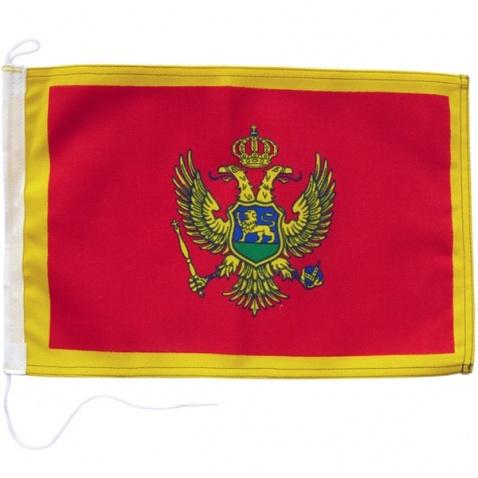 Vlajka Černá Hora 20x30cm