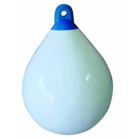 Fendr kulatý SH - průměr 35 cm, výška 48 cm, objem 21 l white/blue