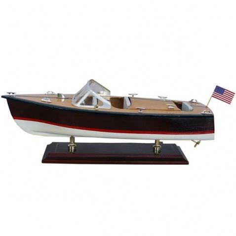 Model lodi - motorový člun 35x13,5cm