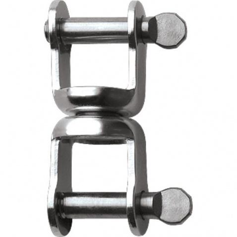 Double šekl, otočný se šroubovacím čepem – RF120