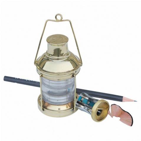 Ořezávátko-kotevní lampa, mosaz, v.9 cm