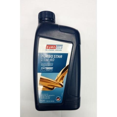 Olej 4T, 15W-40 Turbo star, 1l