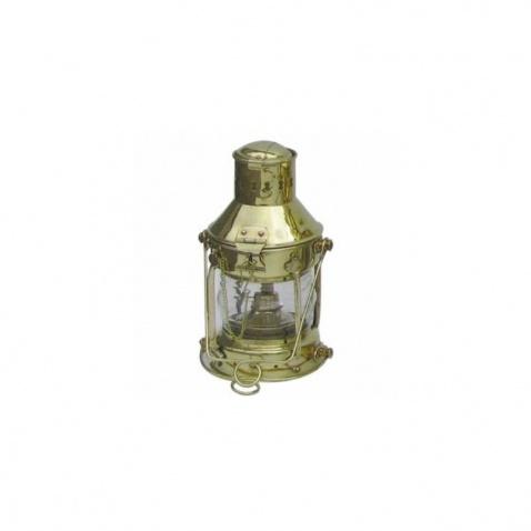 Lampa petrolejová, vrcholová mosaz,v.24cm, 360°