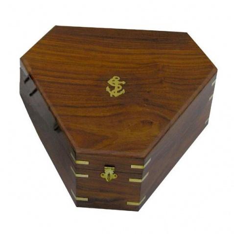 Krabice dřevěná na sextant 8202
