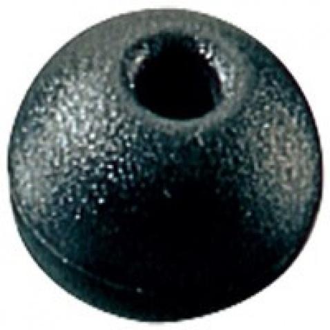 Kulička, černá pr. 25 mm, max. lano pr.5 mm - RF1316BLK