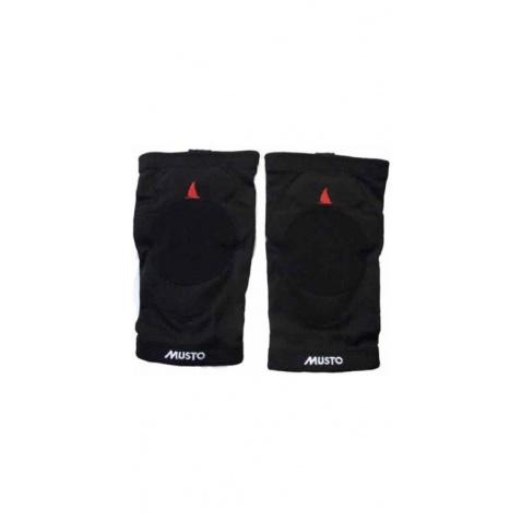 Chrániče na kolena MUSTO black (bl)