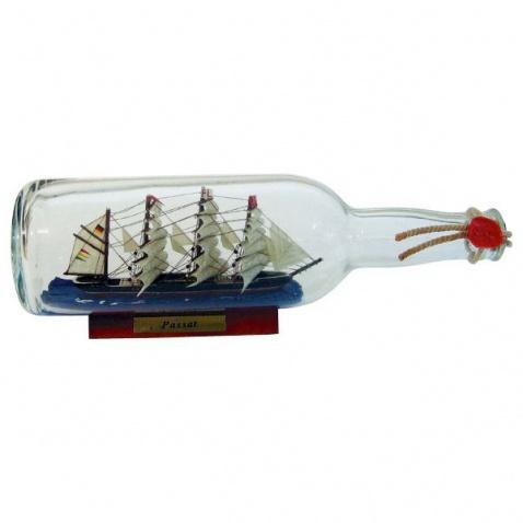 Model lodi v láhvi - plachetnice PASSAT