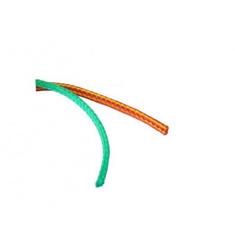 Lano plovoucí, zelené,  pr. 8 mm