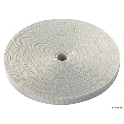 Popruh Life line, 25mm, 50m, bílá, pevnost 2000Kg