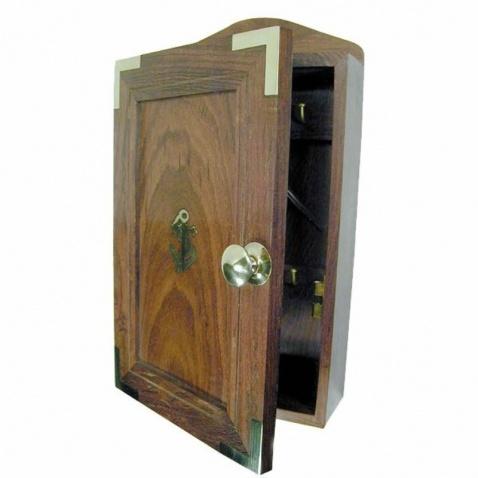 Box na klíče dřevěný16,5x28,5x7cm