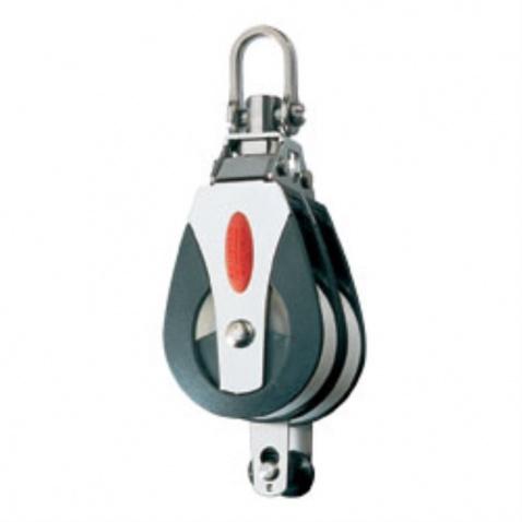 Dvojkladka RF41210 Double block, becket, 2-axis shackle head