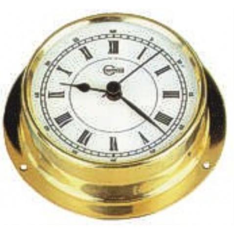 Hodiny 70mm,zlaté,římské číslice