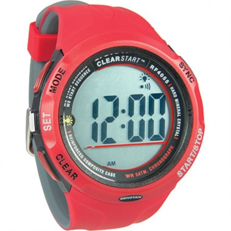 Hodinky Clearstar Sailing Watch, red/grey - RF4055