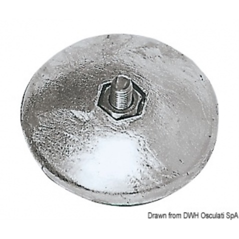 Anoda zinková pro kormidlo,  pr. 70mm