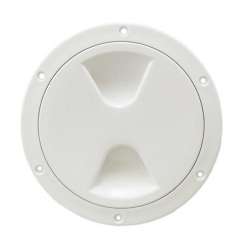 Inspekční víko, 168/210 mm bílé