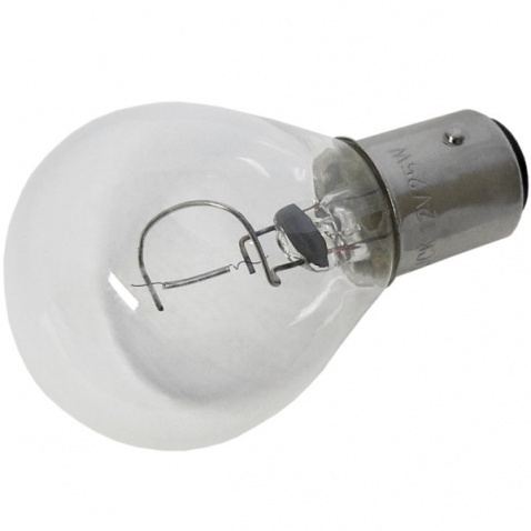 Žárovky 12V, 10W,2-pólová