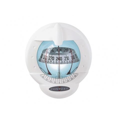 Kompas Contest 101 bílý, bílá růžice