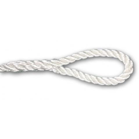 Zapletení trojpramenného lana od 14mm průměru
