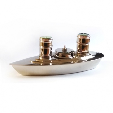 Solnička a pepřenka - loď, nikl