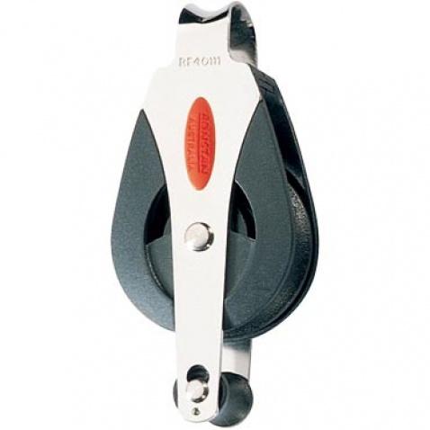 Kladka s okom - RF40111 Single block, becket, loop head