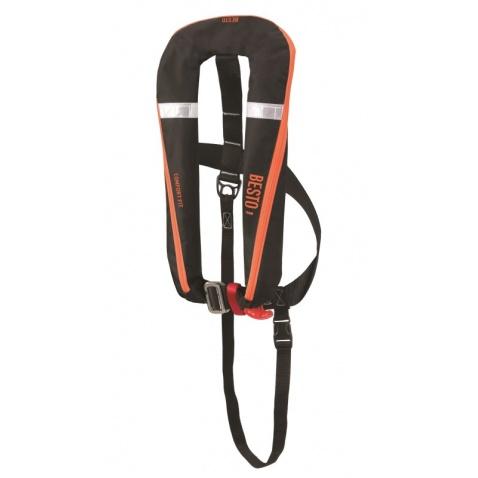 Vesta samonafukovací Comfortfit 165N, 50+kg, black/orange