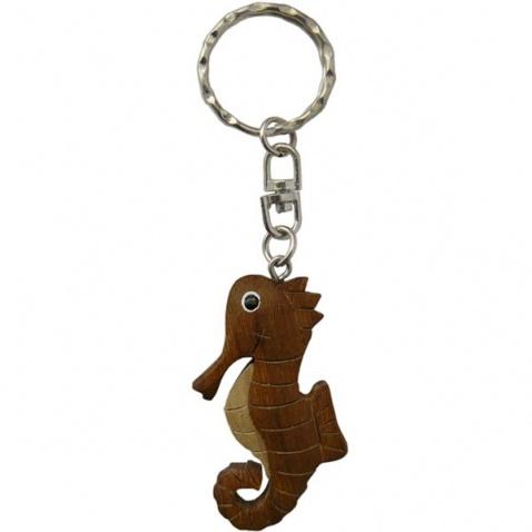 Přívěšek dřevěný - mořský koník