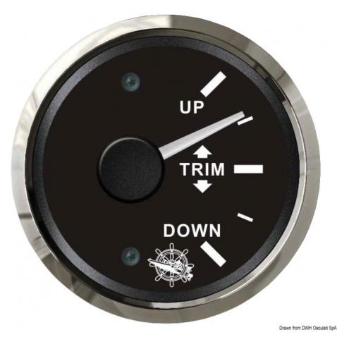 Trimmetr 0-190 Ohm, černý