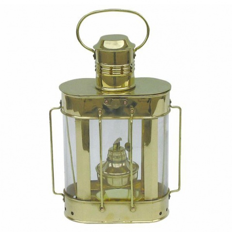 Lampa petrolejová, obdelník,v.27cm