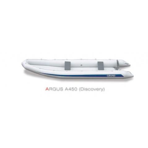 Nafukovací kanoe Grand A450 Discovery - šedá